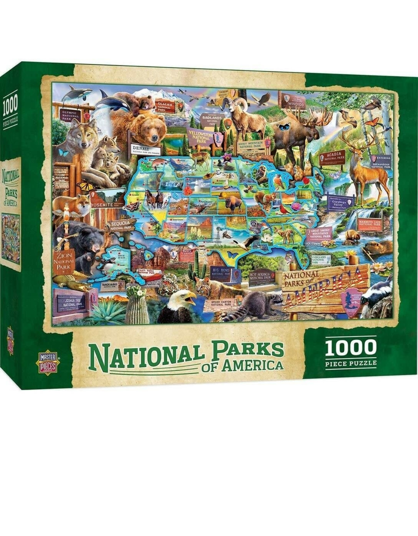 National Parks 1000 pc