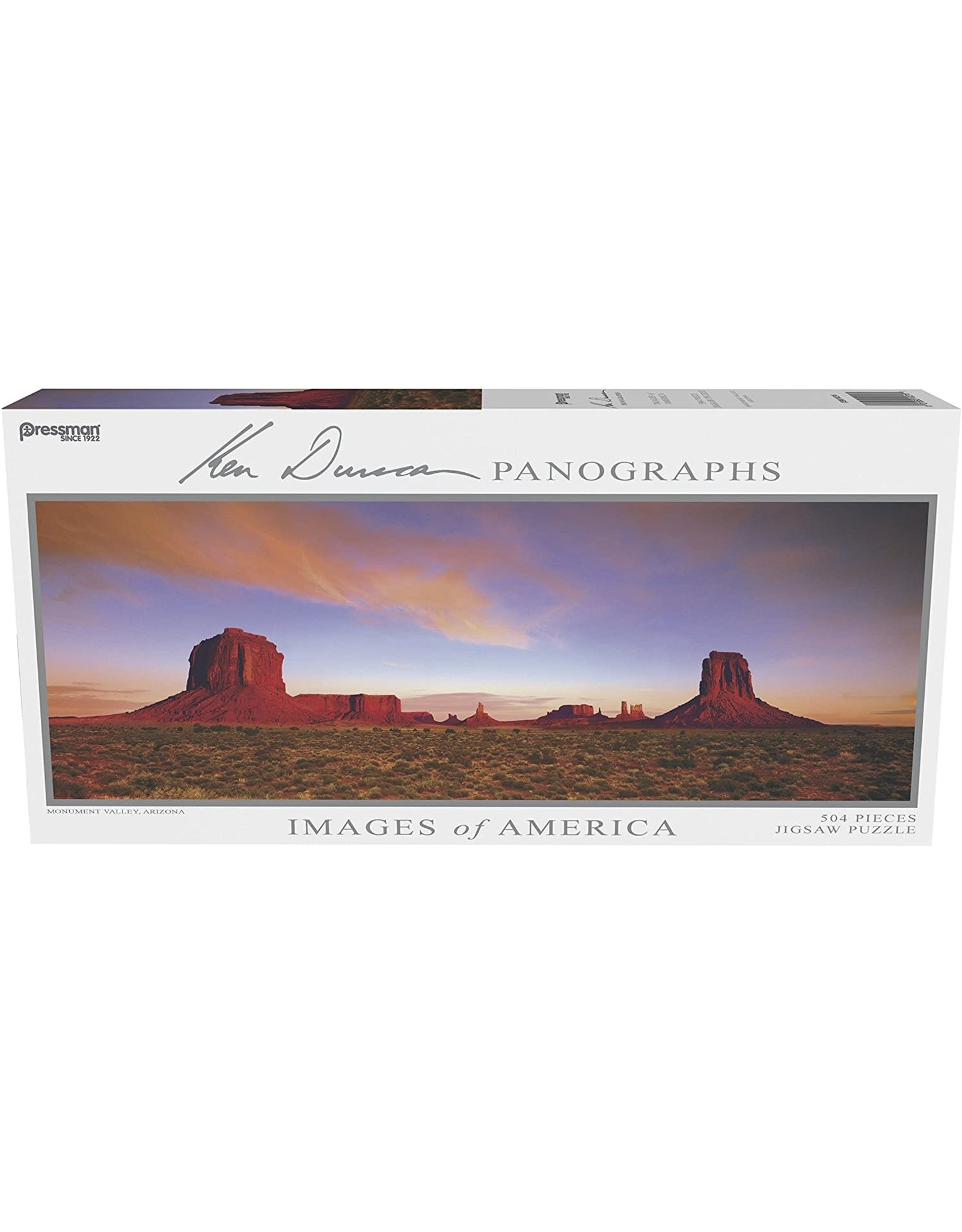 Images of America Panoramic 504 pc Assortment