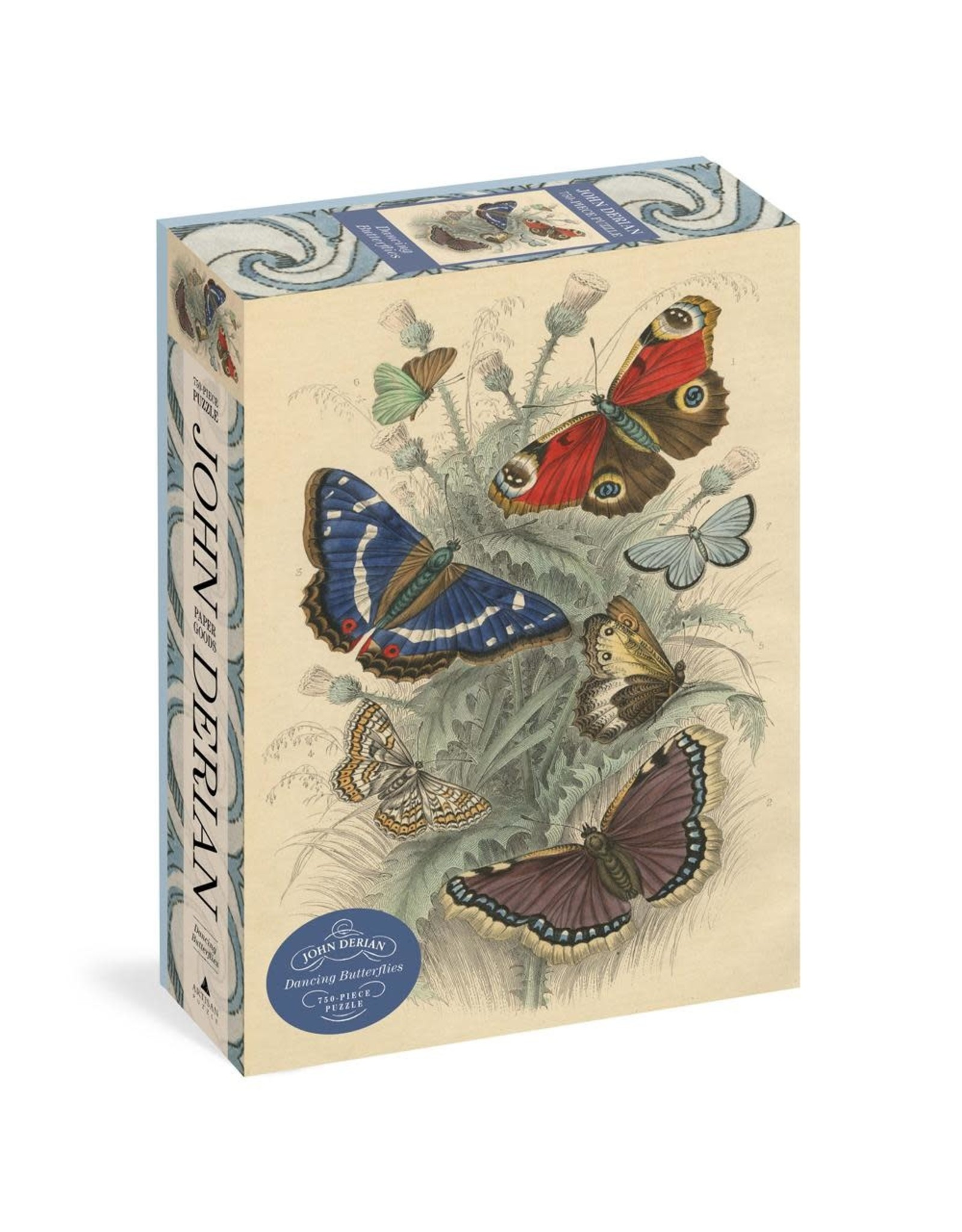 John Derian Dancing Butterflies 750 pc