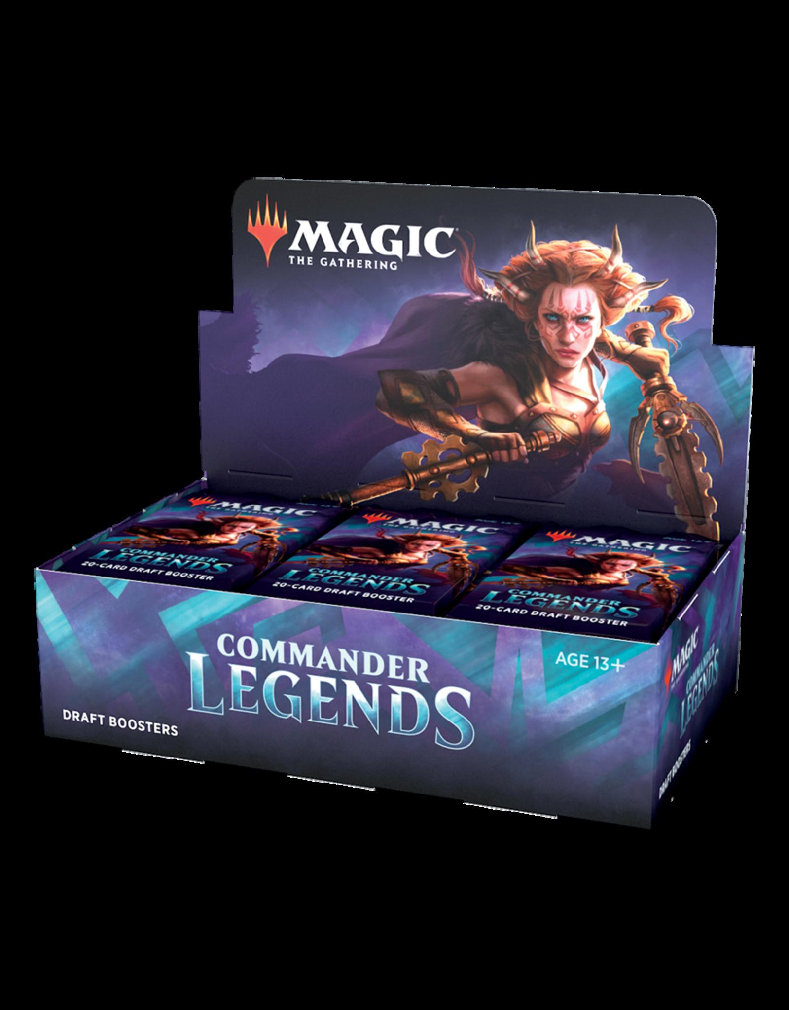 Commander Legends Draft Display