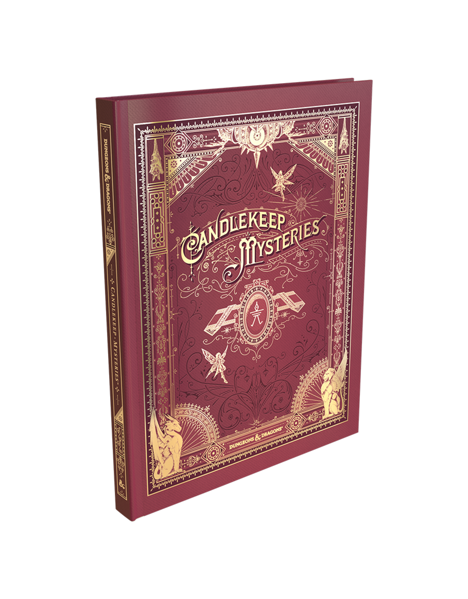Dungeons & Dragons: Candlekeep Mysteries (Brick & Mortar Cover)