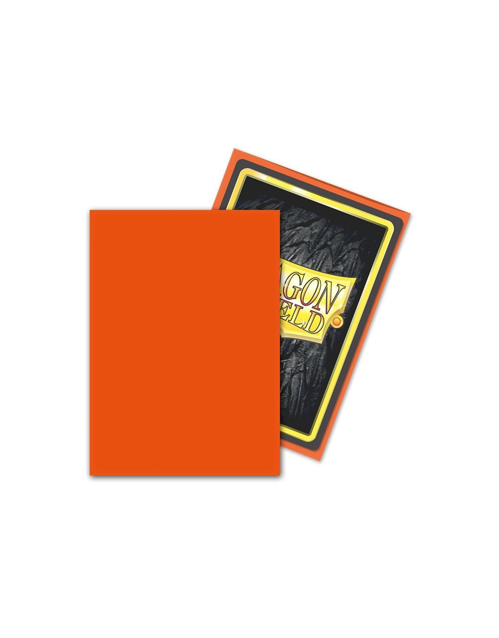 Dragon Shield Classic Sleeves 100ct Tangerine