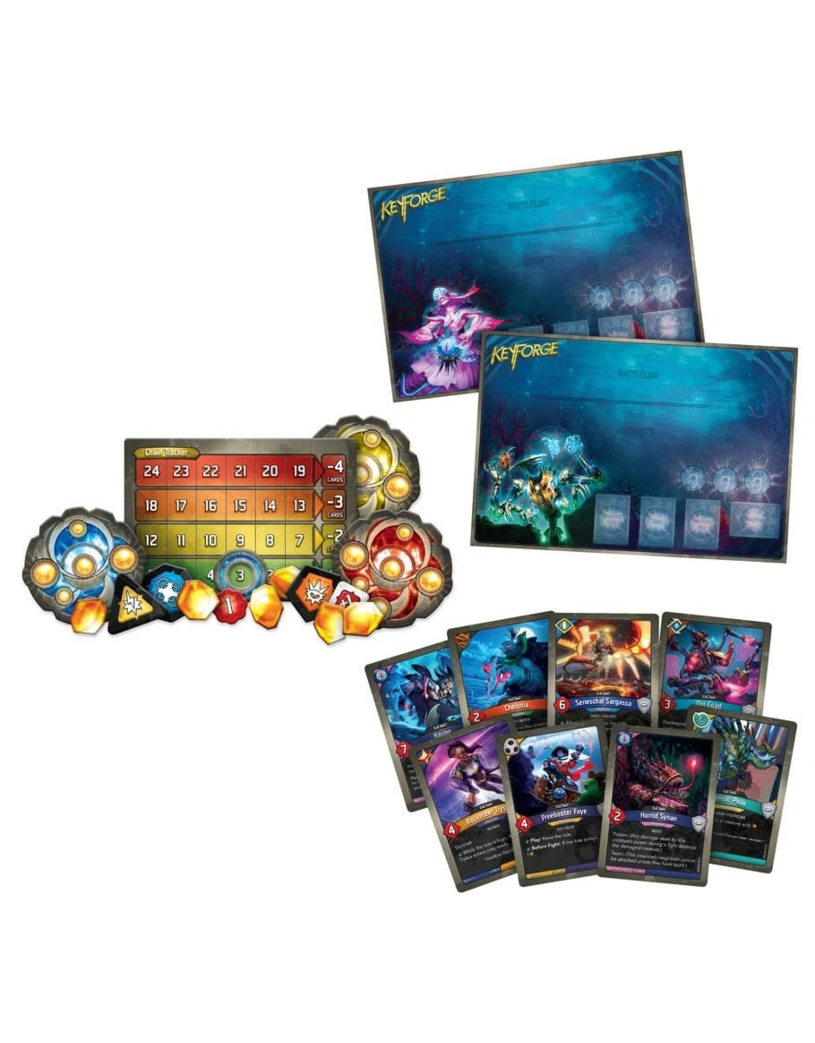 (Pre-Order) KeyForge: Dark Tidings: 2 Player Starter Pack