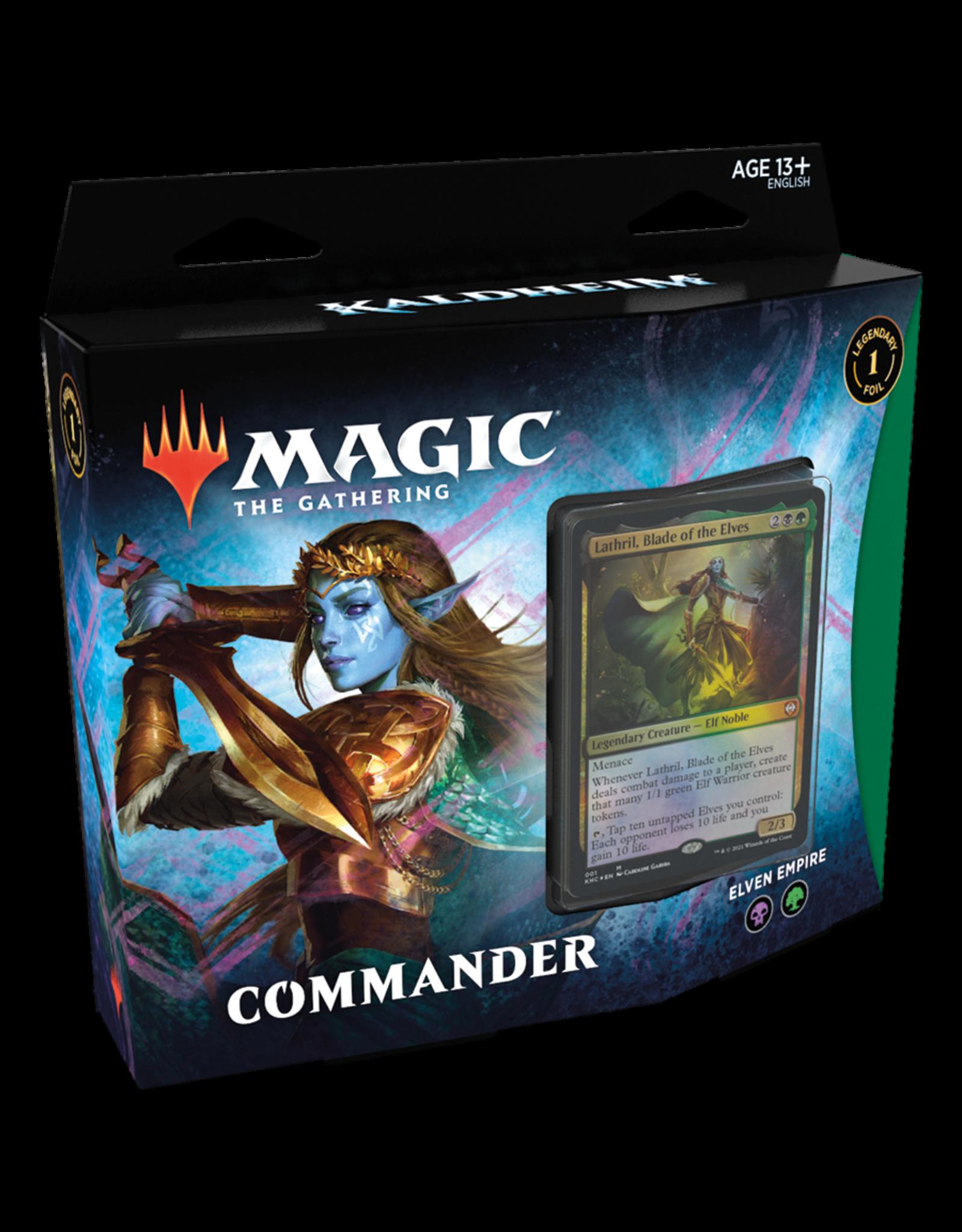 Magic the Gathering: Kaldheim Commander Deck - Elven Empire
