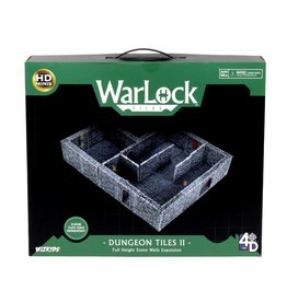 WarLock Tiles: Dungeon Tiles II - Full Height Stone Walls