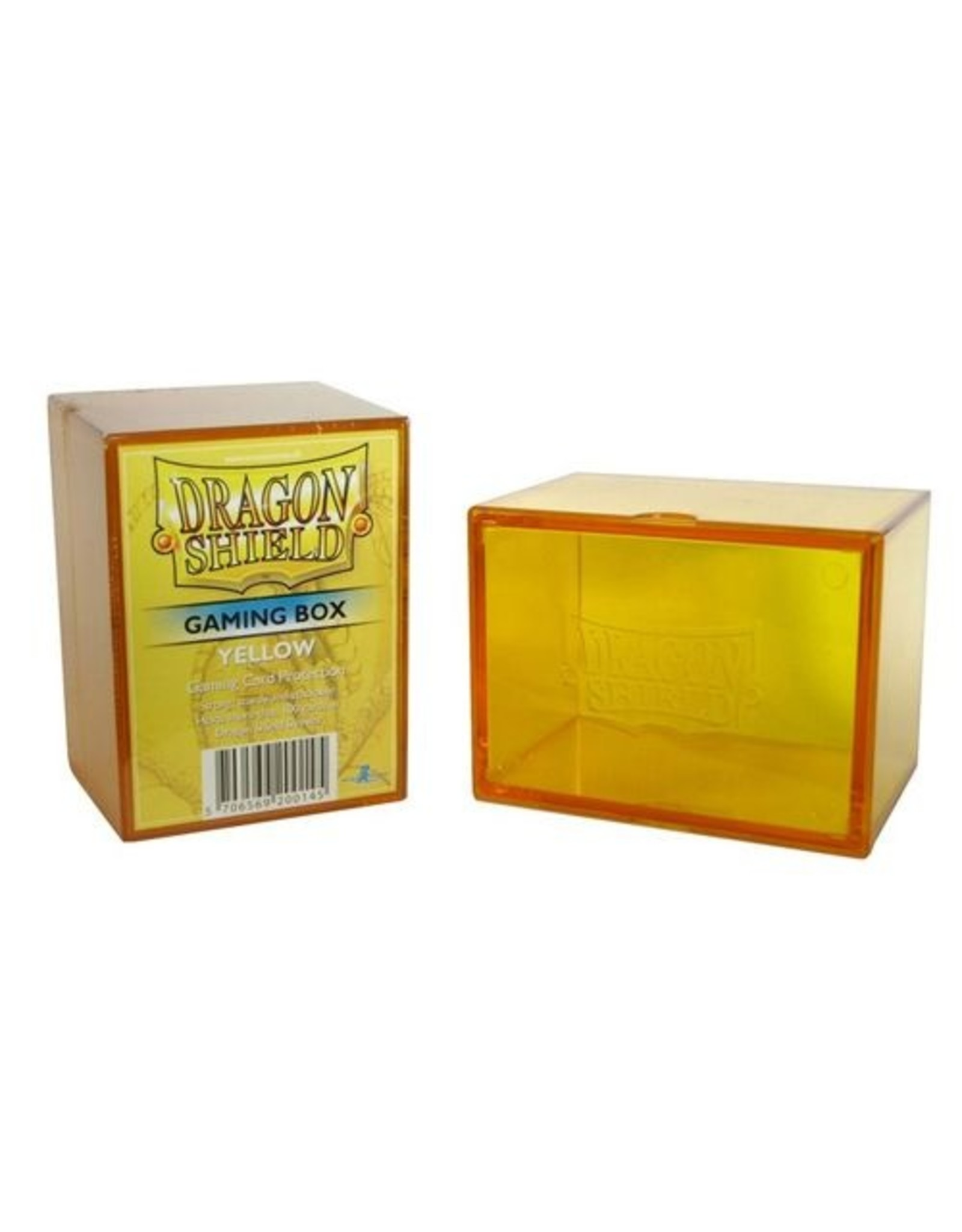 Dragon Shield: Gaming Box Yellow