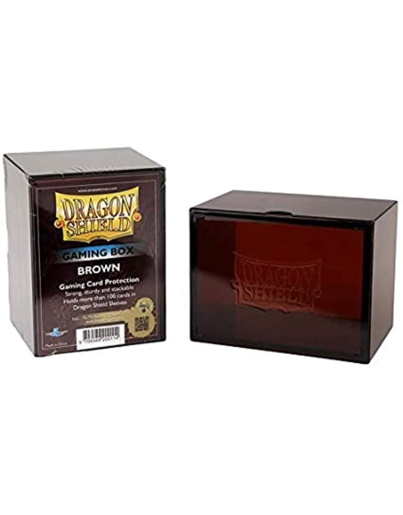 Dragon Shield: Gaming Box Brown