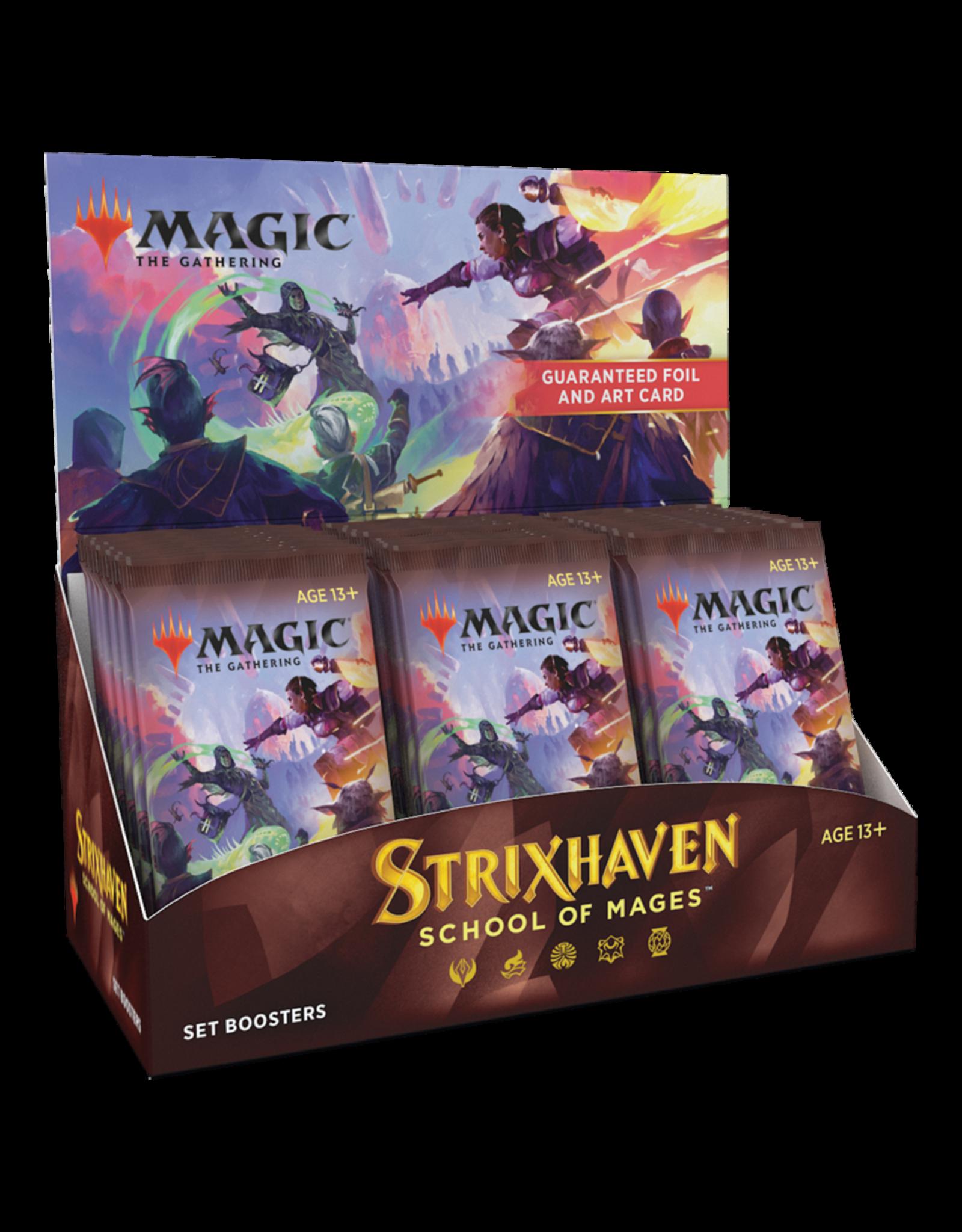 Strixhaven - Set Booster Display