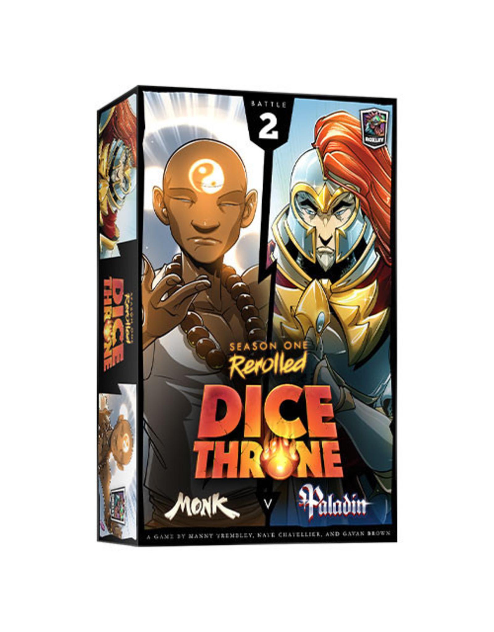 Dice Throne: Season 1 - Monk vs Paladin