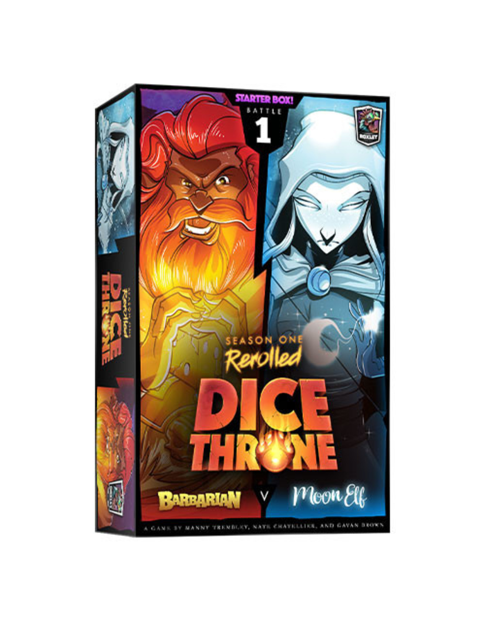 Dice Throne: Season 1 - Barbarian vs Ef Moon