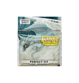 Dragon Shields Perfect Fit: (100) Side-Loading Clear