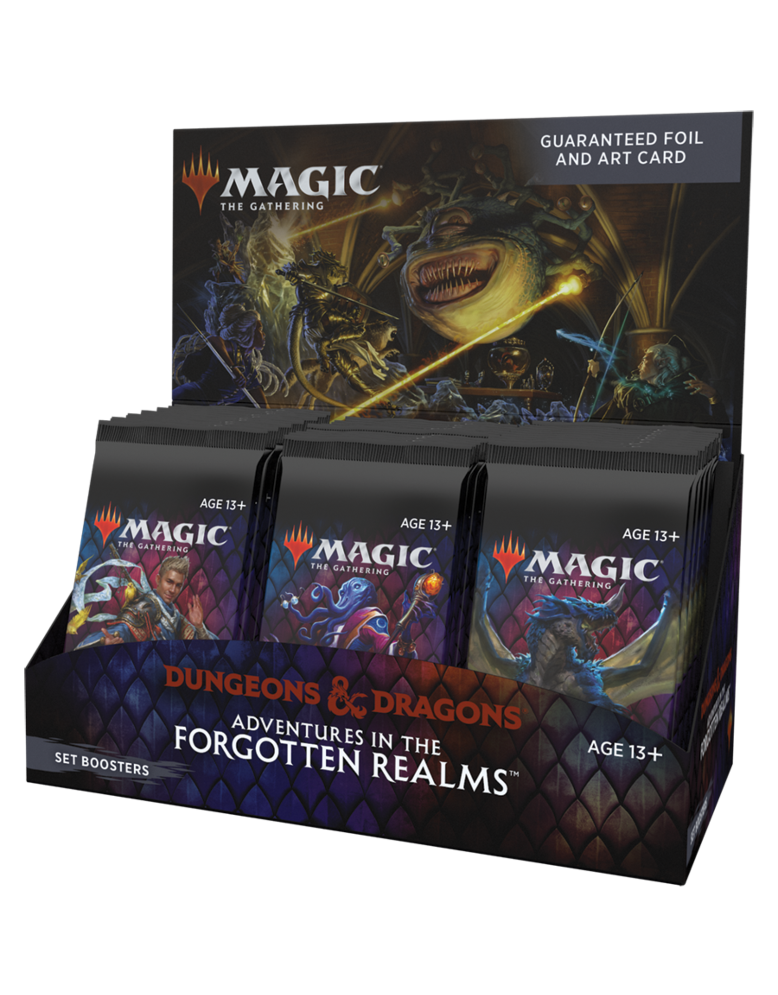 Adventures in the Forgotten Realms - Set Booster Display