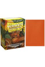 Dragon Shields: (100) Matte Tangerine