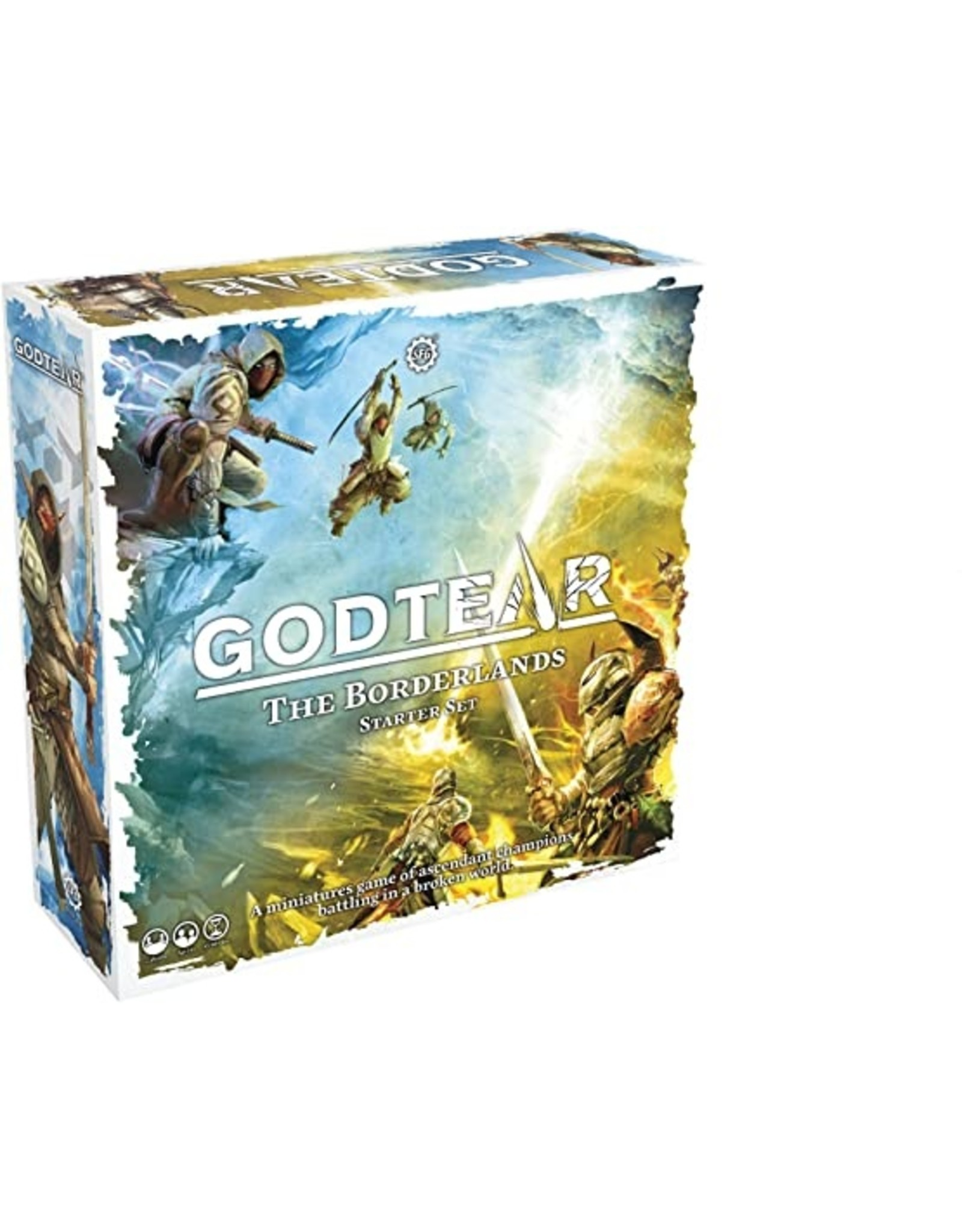 Godtear: The Borderlands Starter Kit