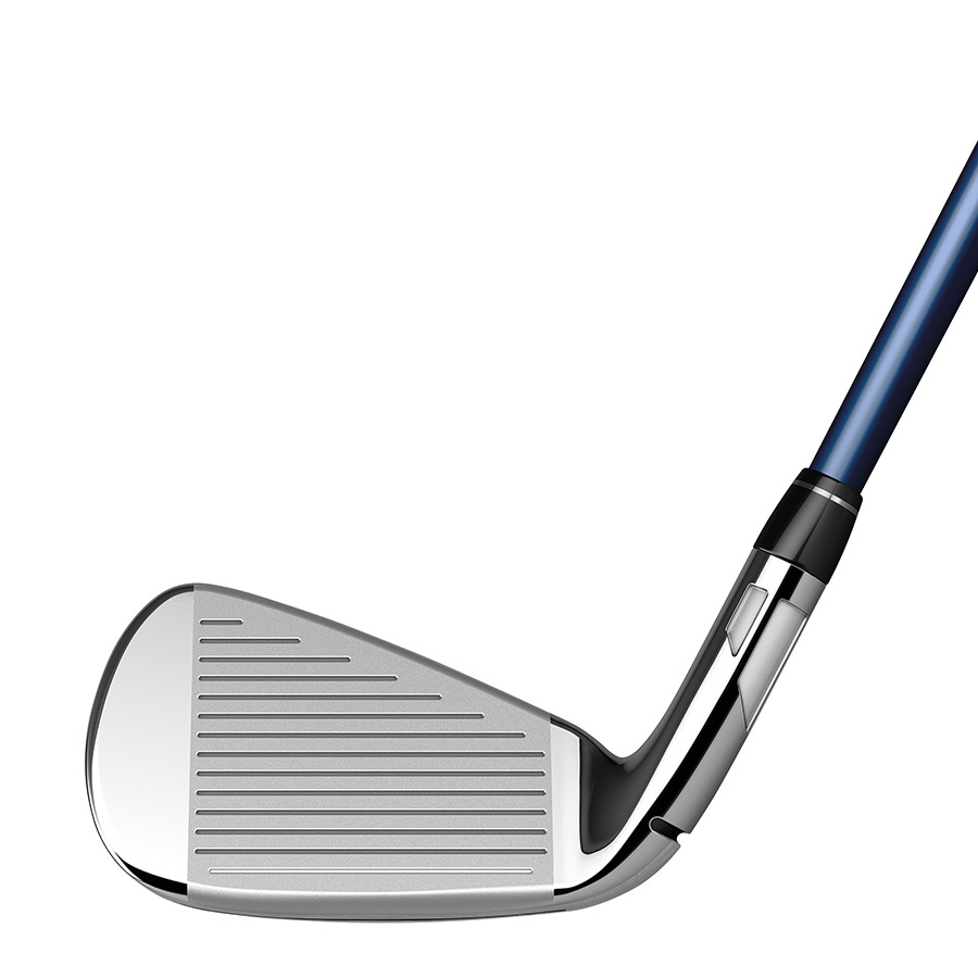 TaylorMade SIM Max OS Irons 7pc. (5-PW,AW) - Steel Shafts