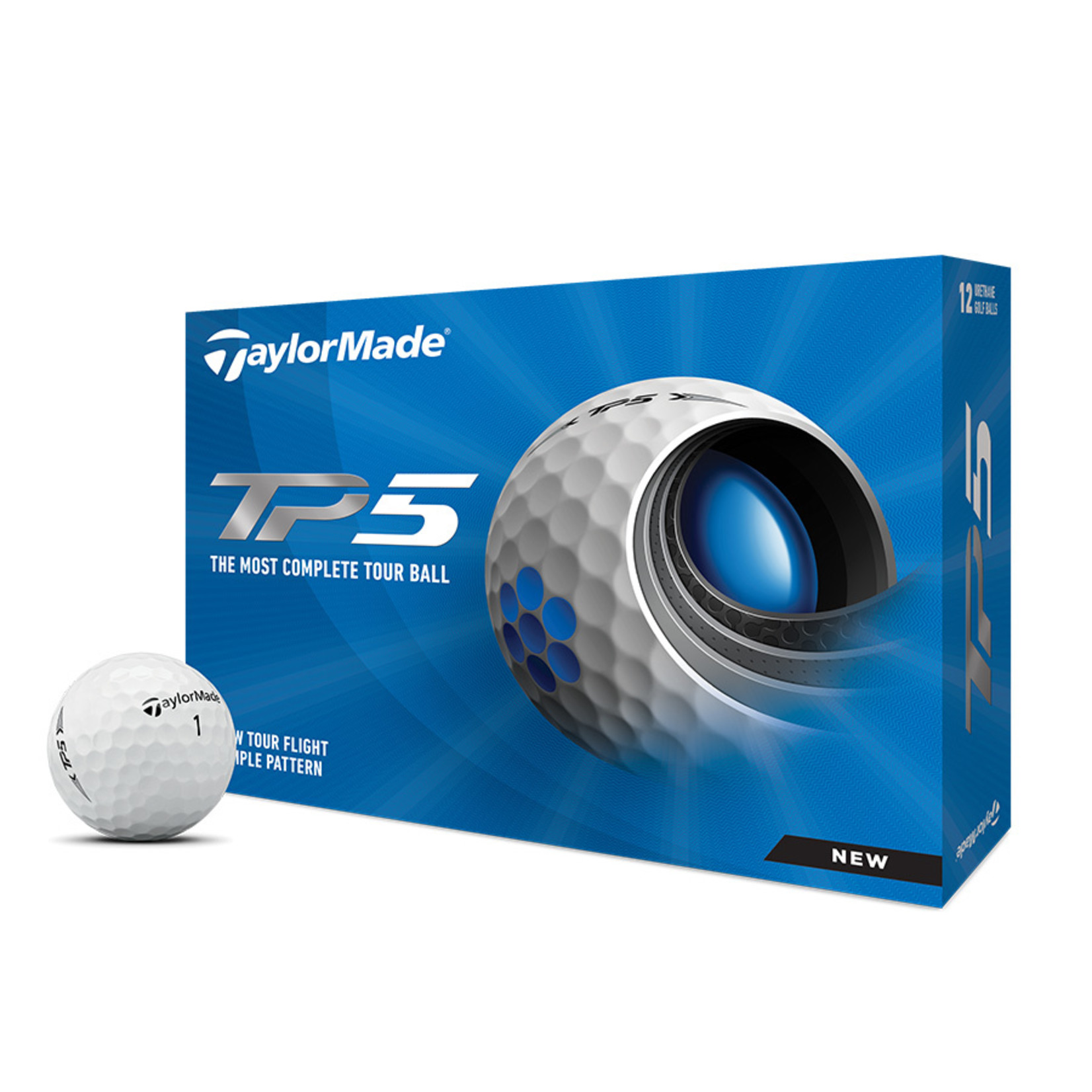 TaylorMade 2021 TP5 - Dozen