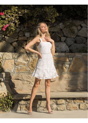 LUSH Lush Lace Dress White