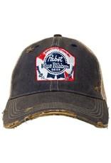 RETRO BRAND PBR Retro Brand Distressed Hat