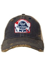 RETRO PBR Retro Brand Distressed Hat