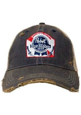 RETRO BRAND PBR Retro Brand Distressed Hat