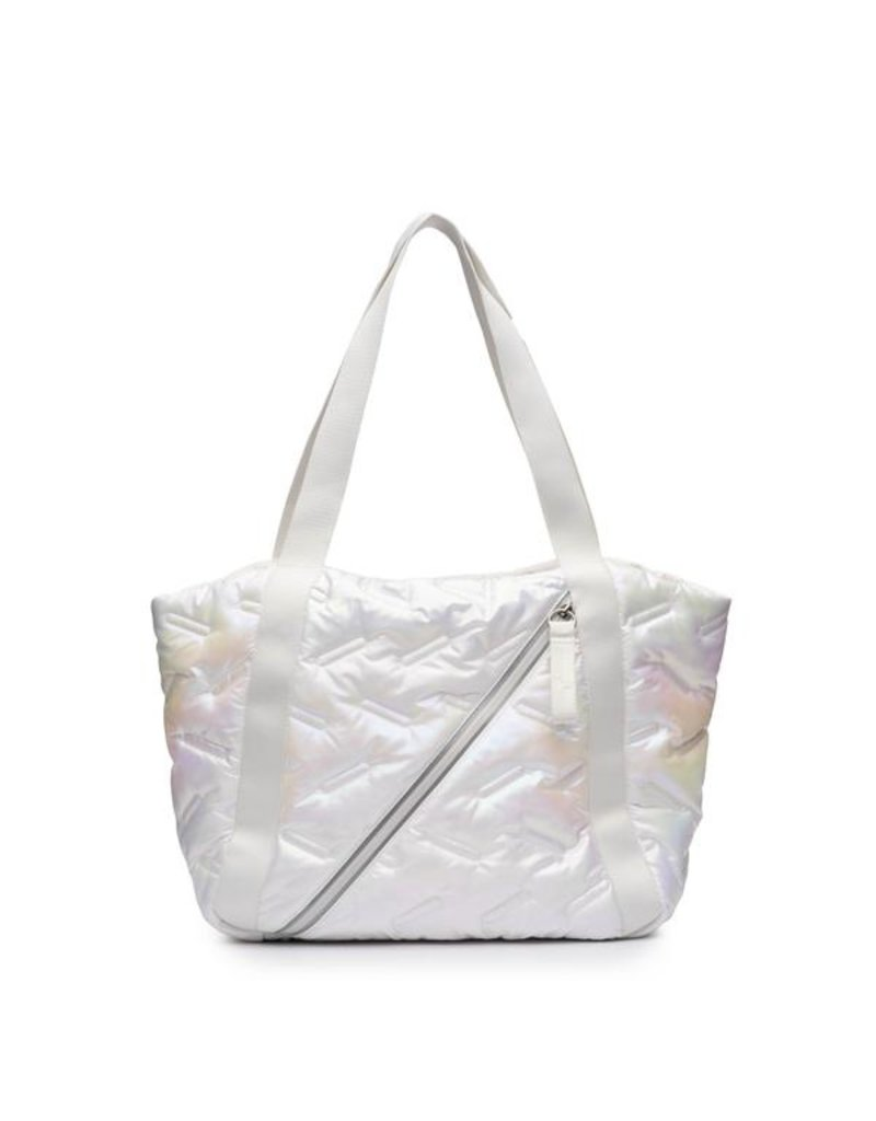 Go Dash Dot Go Dash Dot Easy Tote White Iridescent