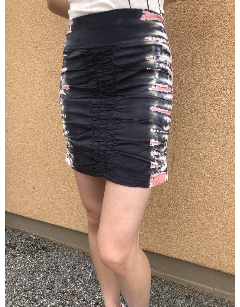 XCVI Wearables Tie Dye Trace Skirt