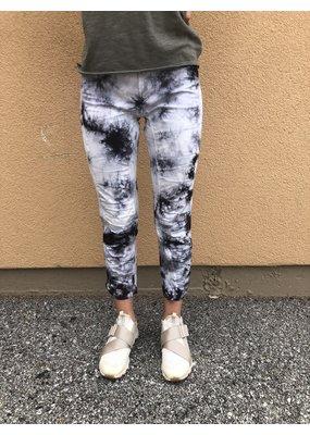XCVI Wearables Tie Dye Jetter Crop Legging