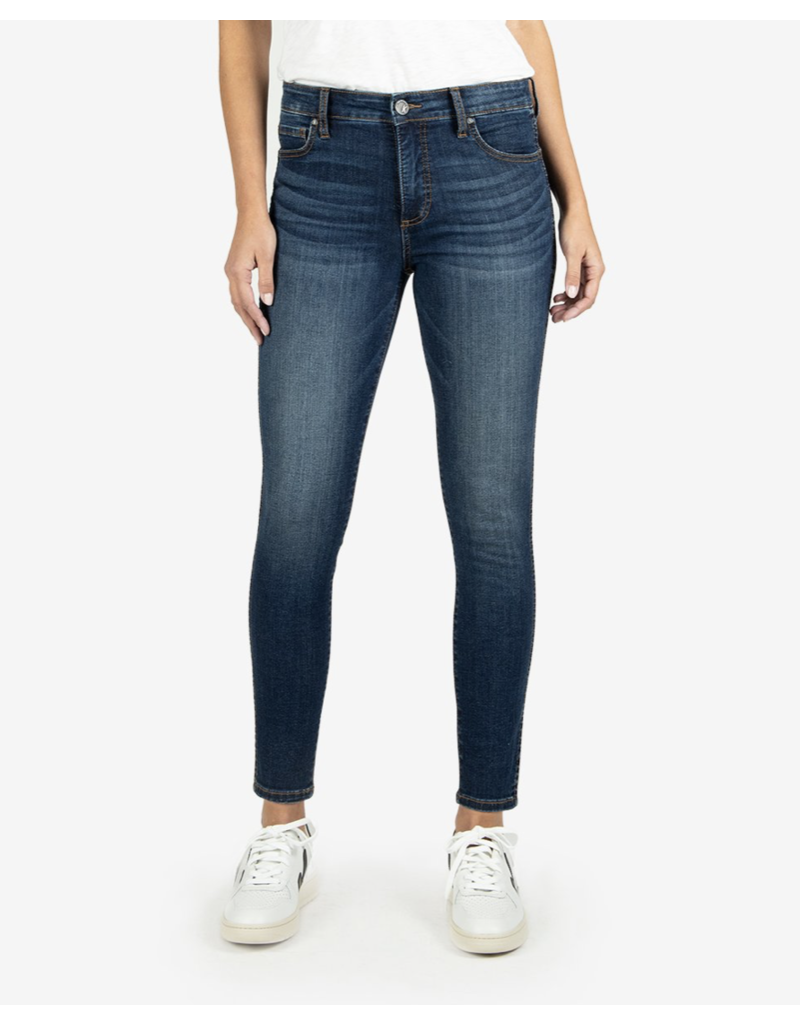 KUT Kut From The Cloth Connie High Rise Fab Ab Ankle Skinny