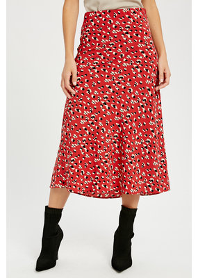 WISHLIST Wishlist Leopard Midi Skirt