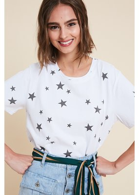 WISHLIST Wishlist Star Distressed Tee