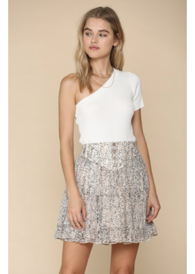 BYTOGETH By Together Floral Skirt