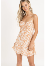 LUSH Lush Printed Cami Mini Dress
