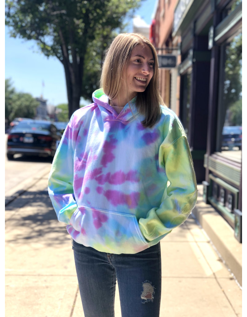 BOOTERY BOUTIQUE Bootery Boutique Tie Dye Hoodie
