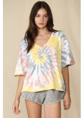 BYTOGETH By Together Tie Dye Lemon Navy