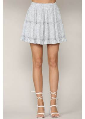By Together By Together Ruffle Mini Skirt