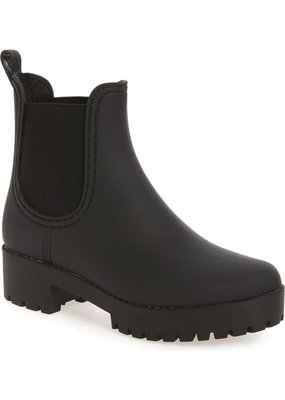 JEFFERY Jeffrey Campbell Cloudy Waterproof Chelsea Rain Boot