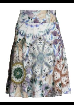 SALAAM Salaam Flippy Skirt Tie Dye
