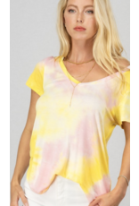 Trend Notes Trend Notes Tie Dye Yellow