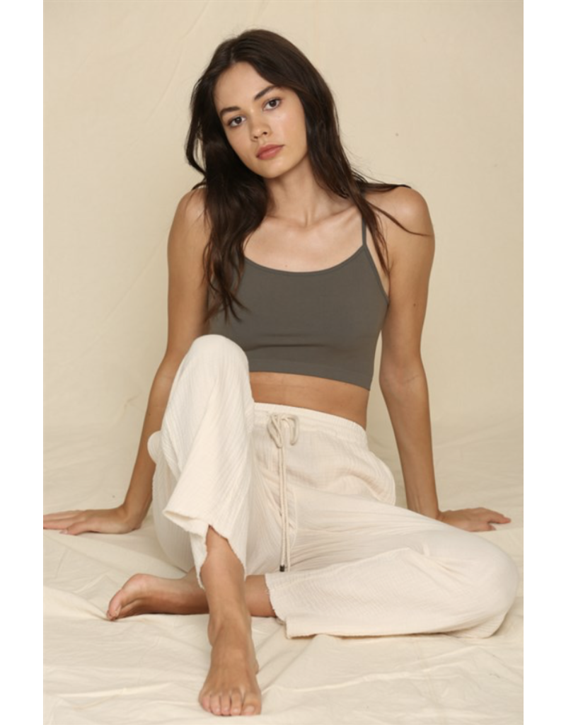 BYTOGETH By Together Seamless Cami Graphite