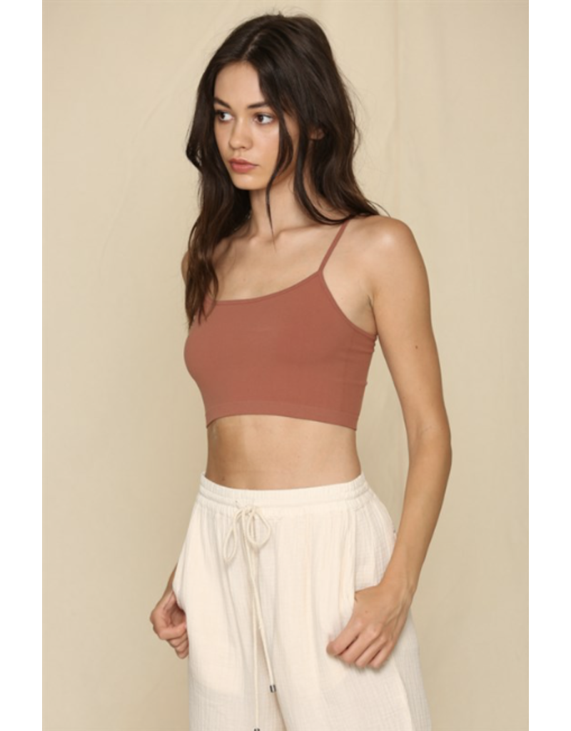 By Together By Together Seamless Cami Chestnut
