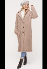LUSH Lush Long Button Down Coat LT14933