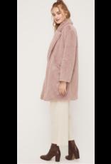 LUSH Lush Oversize Faux Fur Coat LT14982