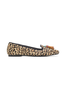 HUSHPUP Hush Puppies Sadie Tassel Slip On Leopard