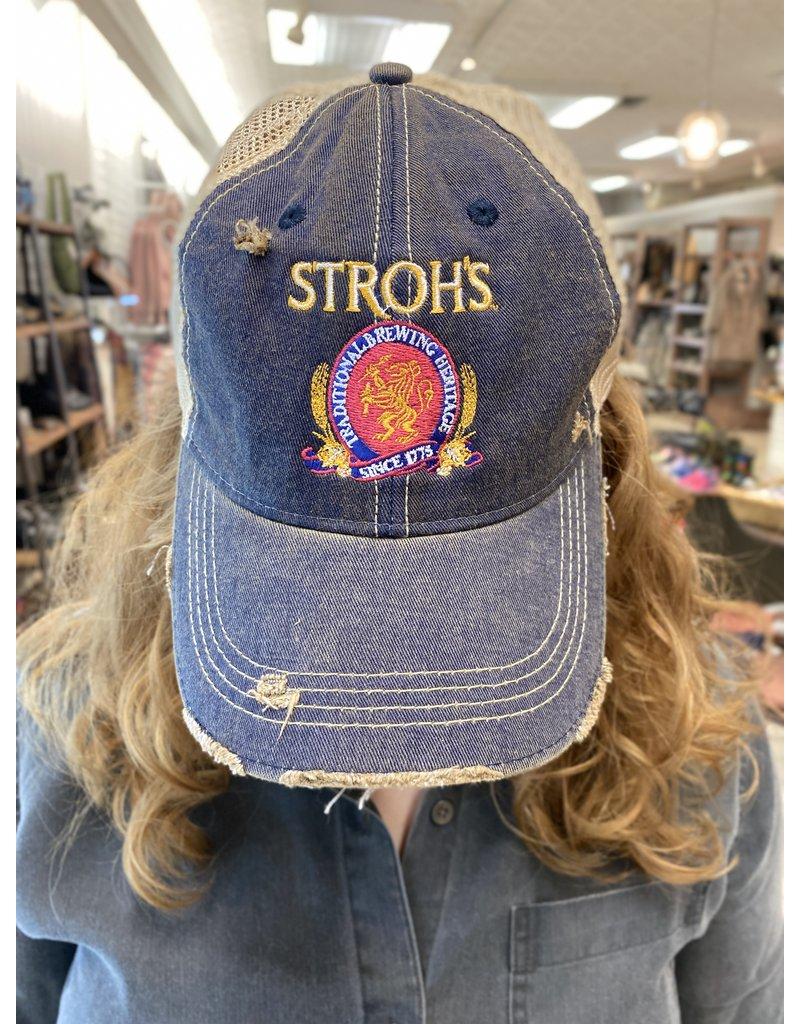 RETRO Retro Brand Stroh's Navy