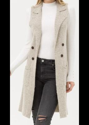 MYCLOSET MyCloset Oatmeal Sweater LT-90710WH