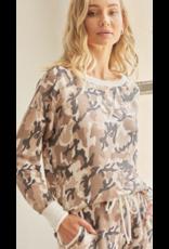 CY FASHION CY Fashion Camel Sweatshirt M3774