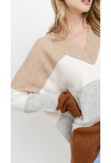 PAPER CRANE Paper Crane Multi Sweater C71028A