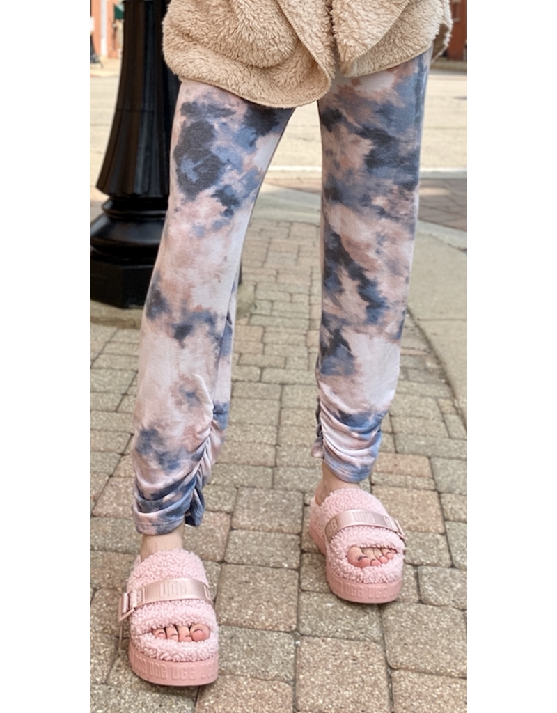 Fashion District LA Fashion District LA Drawstring Lounge Pants Pink/Blue