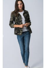 Trend Notes Camo Zip Up Camouflage Jacket 0200-2818-11