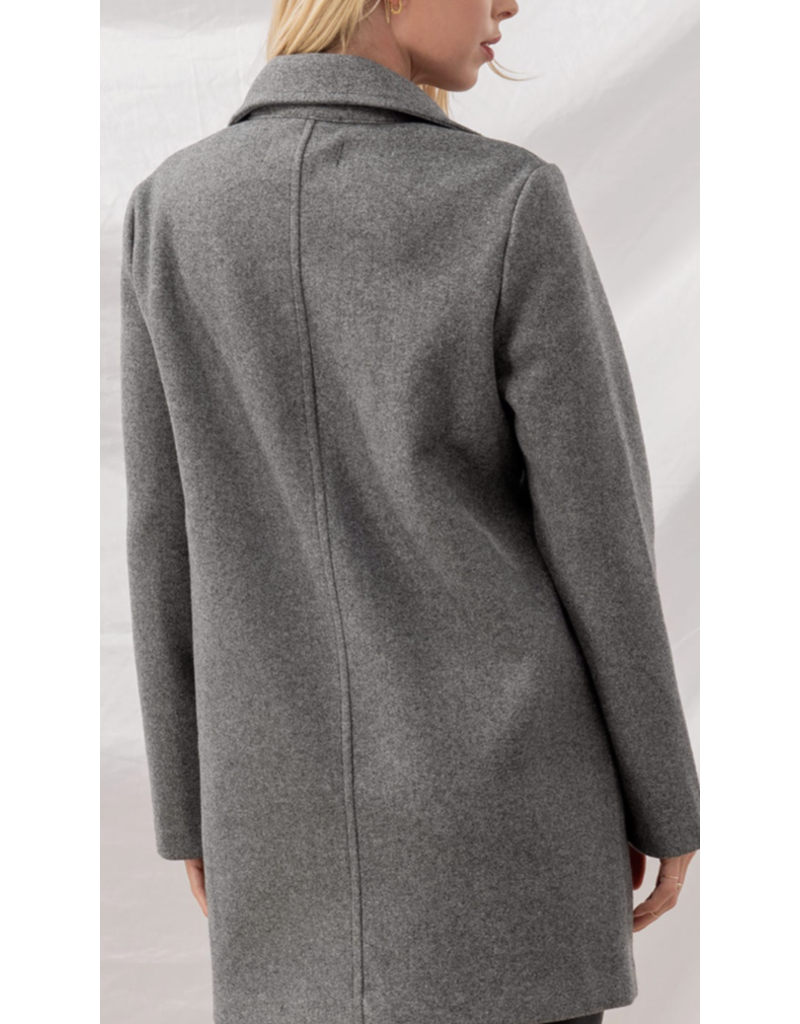 Trend Notes Trend Notes Grey Jacket 0025-1262